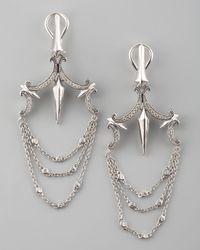 Stephen Webster | Metallic Pave Chandelier Earrings | Lyst