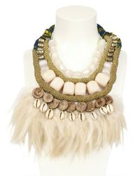Anita Quansah London - Natural The Kima Necklace - Lyst