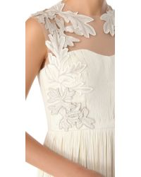 Catherine Deane   White Norah Long Gown   Lyst