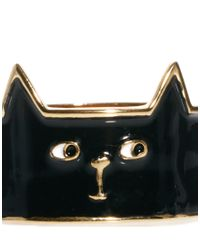 Lazy Oaf | Black Cat Ring | Lyst