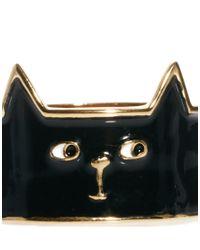 Lazy Oaf - Black Cat Ring - Lyst