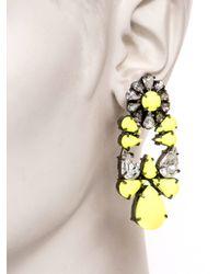 Shourouk - Yellow Mia Earrings - Lyst