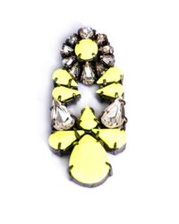 Shourouk - Yellow Mia Earrings - Lyst