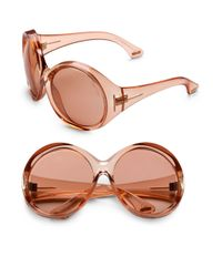Tom Ford | Pink Ali Sunglasses | Lyst