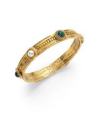 Ben-Amun - Metallic Byzantine Bangle - Lyst