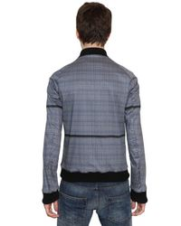 Balmain - Blue Denim Shirt for Men - Lyst
