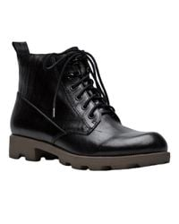 Theyskens' Theory - Black Lace Up Boot - Lyst