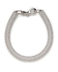 BaubleBar | Metallic Crystal Bolster Necklace | Lyst