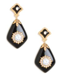 BaubleBar - Black Glamour Earrings - Lyst