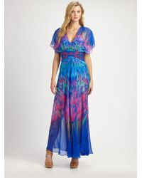 Gottex   Multicolor Silk Beach Dress   Lyst