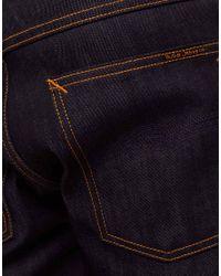 Nudie Jeans - Blue Nudie Average Joe Dry Organic Straight Jeans for Men - Lyst