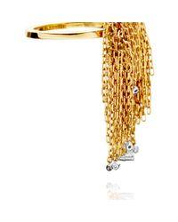 Solange Azagury-Partridge - Metallic Fringe Ring - Lyst