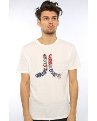 Wesc | The Stitch Icon Tee in White for Men | Lyst
