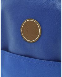 Fred Perry - Blue Flight Bag for Men - Lyst
