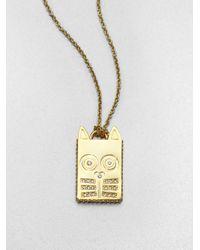 Marc By Marc Jacobs - Metallic Pavé Animal Pendant Necklace - Lyst