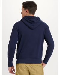Polo Ralph Lauren - Blue Beach Fleece Pullover Hoodie for Men - Lyst