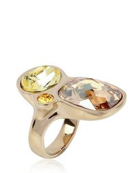 Atelier Swarovski - Metallic Day and Night Ring - Lyst