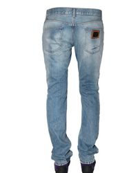 Dolce & Gabbana | Blue 19cm Basic Denim Gold Fit Jeans for Men | Lyst