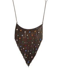Iosselliani - Black Galaxy Necklace - Lyst