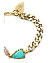 Lizzie Fortunato - Blue Sacred Valley Turquoise Bracelet - Lyst