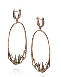 Tomasz Donocik | Pink Venus Fly Trap Hoop Earrings | Lyst