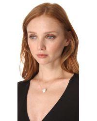 Dara Ettinger | Metallic Mallory Necklace | Lyst