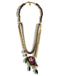 Erickson Beamon | Metallic Goldplated Aquarela Do Brasil Necklace | Lyst