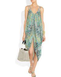 Mara Hoffman | Brown Feather print Underwired Bikini | Lyst