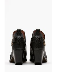 Nasty Gal | Black Robinson Ankle Boot | Lyst