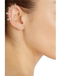 Repossi - Metallic Berbère 18karat Gold Diamond Ear Cuff - Lyst