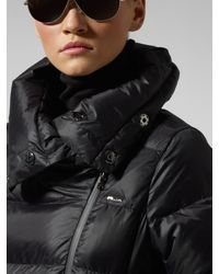 RLX Ralph Lauren - Black Long Cosmic Down Coat - Lyst