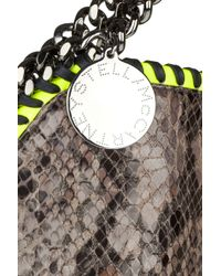 Stella McCartney - Metallic The Falabella Large Shoulder Bag - Lyst