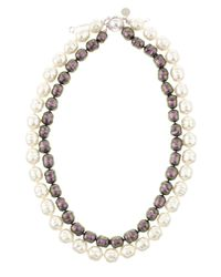 Majorica | Gray Tworow Baroque Pearl Necklace | Lyst