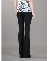 Emilio Pucci | Black Flared Trouser | Lyst