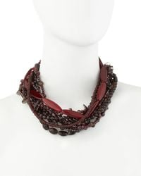 Stephen Dweck - Brown Multistrand Necklace - Lyst