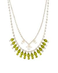 Swarovski | Yellow Multipack Necklaces | Lyst