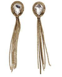 Nicole Romano | Metallic Boreal Drop Earrings | Lyst