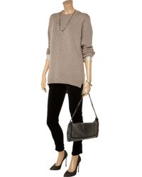 Stella McCartney | Brown Cotton and Wool Blend Tunic Sweater | Lyst