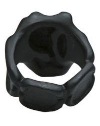 Tamara Akcay - Black Matte Ring for Men - Lyst