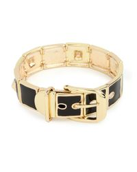 BaubleBar | Metallic Noir Belt Bangle | Lyst