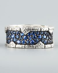 Stephen Webster | Blue Sapphire Band Ring for Men | Lyst