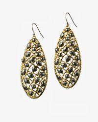 Alexis Bittar - Metallic Siyabona Gold Pyrite Woven Earrings - Lyst