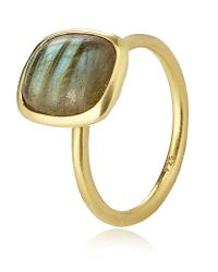 Astley Clarke - Yellow Labrodorite Ring - Lyst
