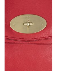 Mulberry - Red Oversized Alexa Leather Bag - Lyst