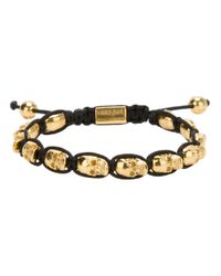 Nialaya | Metallic Skull Bracelet for Men | Lyst