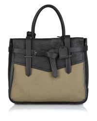 Reed Krakoff | Black Boxer Ii Shark and Felt Tote | Lyst
