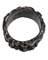 Tamara Akcay - Metallic Bronze Wide Ring for Men - Lyst