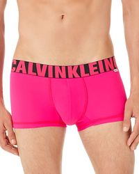 Calvin Klein - Pink X Micro Low Rise Trunks for Men - Lyst