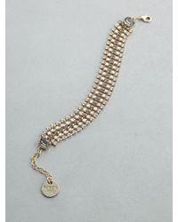 Patrizia Pepe | Metallic Junk Jewelry Bracelet | Lyst
