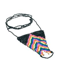 ASOS - Multicolor Seedbead Anklet - Lyst